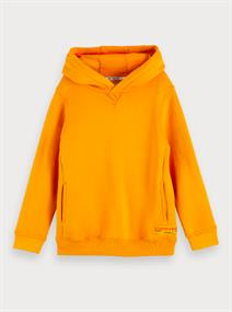 SCOTCH&SODA HOODY WITH COLLEGE ARTWORK