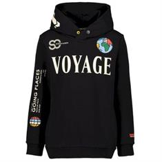 SCOTCH&SODA HOODY WITH PLACED ARTWORK