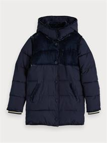 SCOTCH&SODA LONGER LENGHT PADDED JACKET