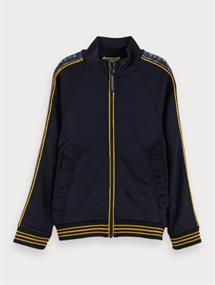 SCOTCH&SODA MERCERIZED TRACK JACKET