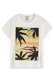 SCOTCH&SODA RELAXES FIT TEE