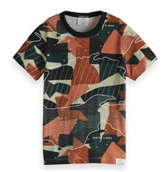 SCOTCH&SODA S/S ALLOVER PRINTED TEE