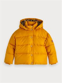 SCOTCH&SODA SHORT LENGHT PUFFER JACKET