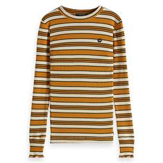 SCOTCH&SODA STRIPED LS TEE