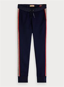 SCOTCH&SODA SWEATPANTS W CUT AND PANELS