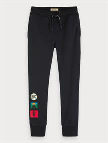 SCOTCH&SODA SWEATPANTS W PLACED ARTWORK