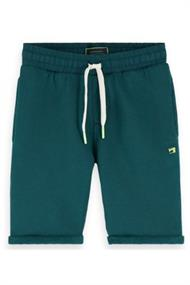 SCOTCH&SODA SWEATSHORTS WITH WOVEN ELASTIC WAISTB