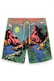 SCOTCH&SODA SWIMSHORT WITH SCENERY PRINT