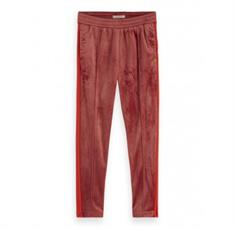 SCOTCH&SODA VELVET TAILORED JOGGGER