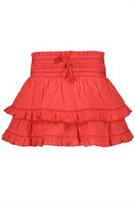 SCOTCH&SODA X KEONI MINI LENGHT RUFFLE SKIRT