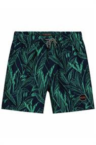 SHIWI BOYS SWIMSHORT SCRATCHED LEAVES