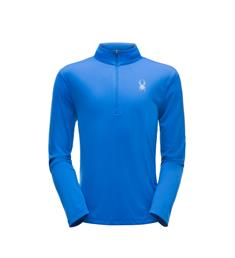 SPYDER LIMITLESS SOLID ZIP T-NECK