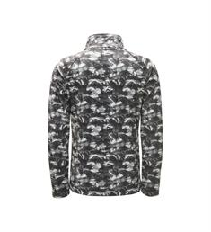 SPYDER MINI LIMITLESS BUG CAMO ZIP T-NECK