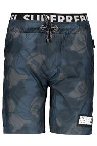 SUPER REBEL BOYS SWIM SHORT ALL-OVER