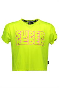 SUPER REBEL GIRLS ACTIVE T-SHIRT