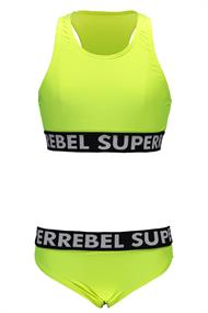 SUPER REBEL GIRLS BIKINI+SHORT