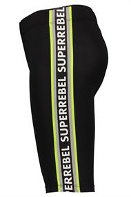 SUPER REBEL GIRLS SPORT CAPRI RUNNING PANTS
