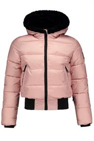SUPER REBEL SUSTAINABLE BASIC SHINY GIRLS SKI JKT