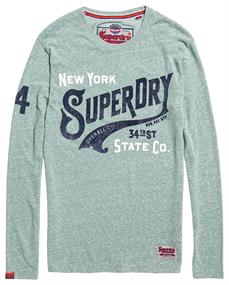 SUPERDRY 34TH ST L/S TEE