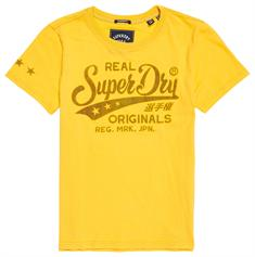 SUPERDRY REAL ORIGINALS DENIM ENTRY TEE