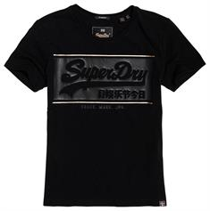 SUPERDRY V LOGO BLOCK ICON ENTRY TEE