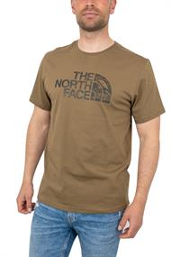 THE NORTH FACE M S/S WOODCUT DOME TEE