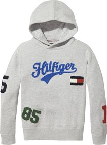 TOMMY ALL OVER TOWELING HOODED SWEATER