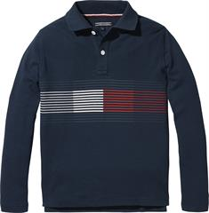 TOMMY ESS FLAG POLO L/S