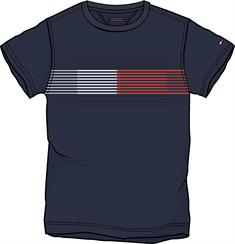 TOMMY ESS FLAG TEE S/S