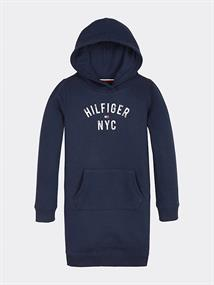 TOMMY ESSENTIAL HOODIE SWEATDRESS