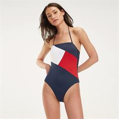 TOMMY HILFIGER BANDEAU ONE-PIECE RP