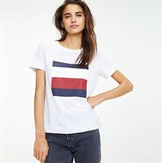 TOMMY HILFIGER CATHY C-NK TEE SS