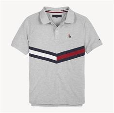 TOMMY HILFIGER CHEVRON FLAG POLO S/S