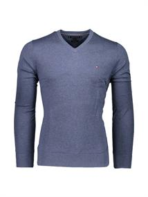 TOMMY HILFIGER COTTON SLIK V NECK