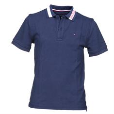 TOMMY HILFIGER DG INTARSIA COLLAR POLO S/S