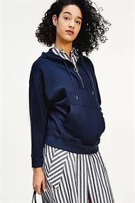 TOMMY HILFIGER ESS RELAXED HALF ZIP HOODIE