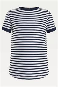 TOMMY HILFIGER ESSENTIAL STRIPE TOP SS