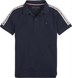 TOMMY HILFIGER FLAG TAPE POLO S/S