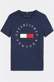 TOMMY HILFIGER FLAG TEE S/S