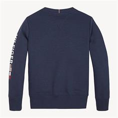 TOMMY HILFIGER FLAGS INTERLOCK CREW