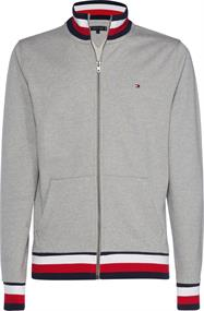 TOMMY HILFIGER GLOBAL TIPPED ZIP