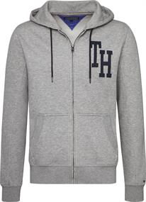 TOMMY HILFIGER HOODED ZIP THROUGH