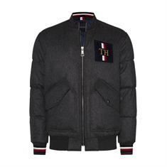 TOMMY HILFIGER ICODN WOOL QUILTED BOMBER