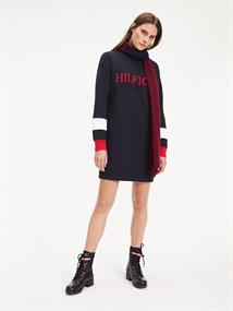 TOMMY HILFIGER LAUREEN C-NK DRESS LS