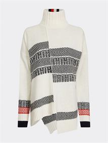 TOMMY HILFIGER PATCHWORK FAIRSLE SWTR
