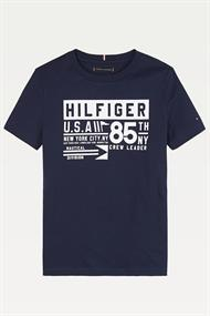 TOMMY HILFIGER REFLECTIVE TH 85 TEE S/S