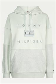 TOMMY HILFIGER RELAXED TONAL HOODIE LS