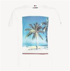TOMMY HILFIGER SUMMER PHOTO PRINT T