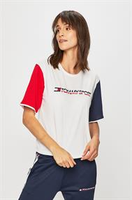 TOMMY HILFIGER TEE COLORBLOCK LOGO