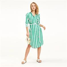 TOMMY HILFIGER TH ESSENTIAL MIDI SHIRT DRESS LS